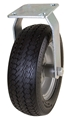"10"" Rigid Caster with Flat Free  Tire"
