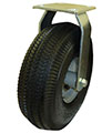 "10"" Rigid Caster with Pneumatic  Tire"