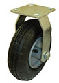 "8"" Rigid Caster with Pneumatic  Tire"