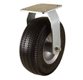 "8"" Rigid Caster with Flat Free  Tire"