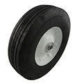 "10 x 2.75"" Semi-Pneumatic Tire"