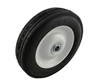 "8 x 1.75"" Offset Rim Semi-Pneumatic Tire"