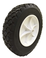 "8 x 1.75"" Plastic Rim Semi-Pneumatic Tire"