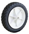 "7 x 1.50"" Plastic Rim Semi-Pneumatic Tire"
